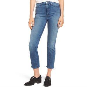 Mother  Rascal High Waist Ankle Jeans